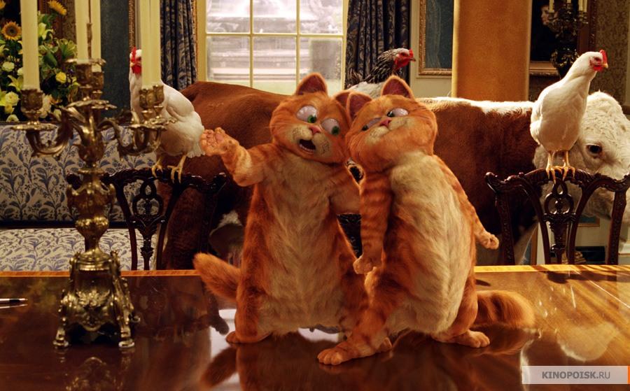 кадр №2 из фильма Гарфилд 2: История двух кошечек (2006)