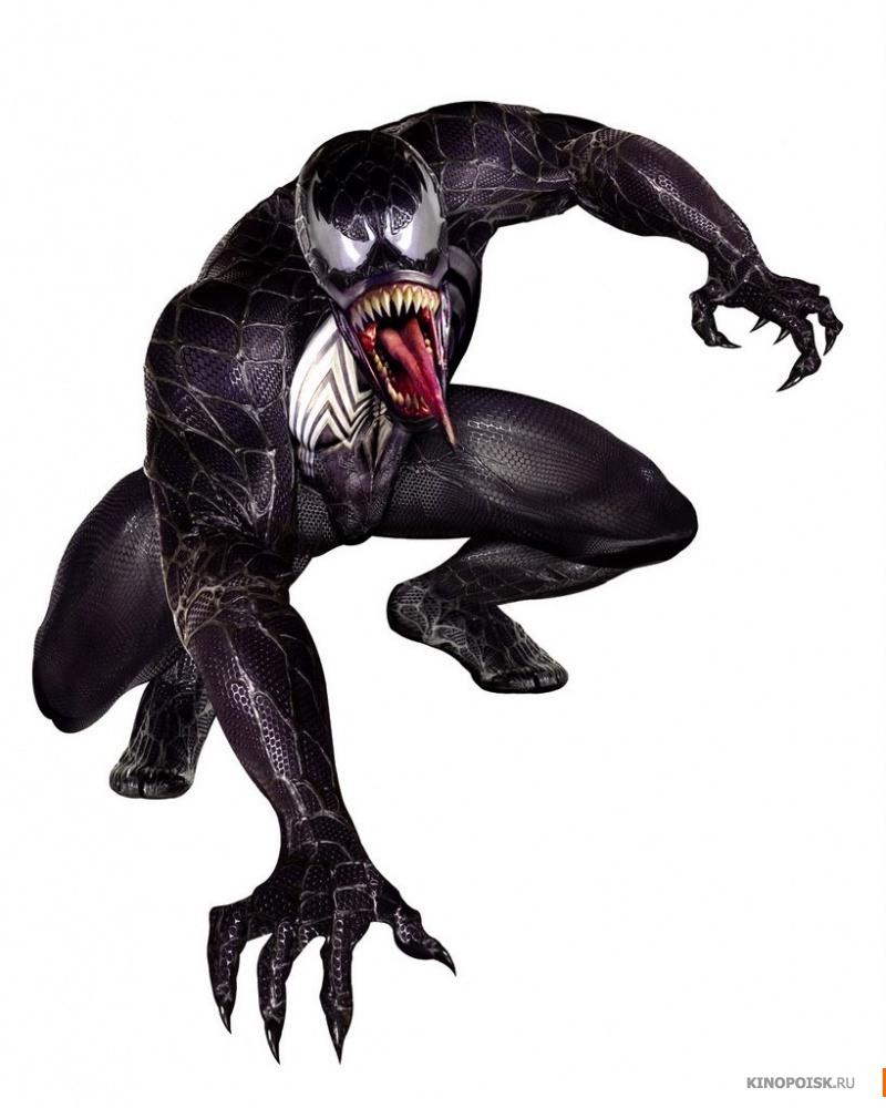 человека паука в чёрном