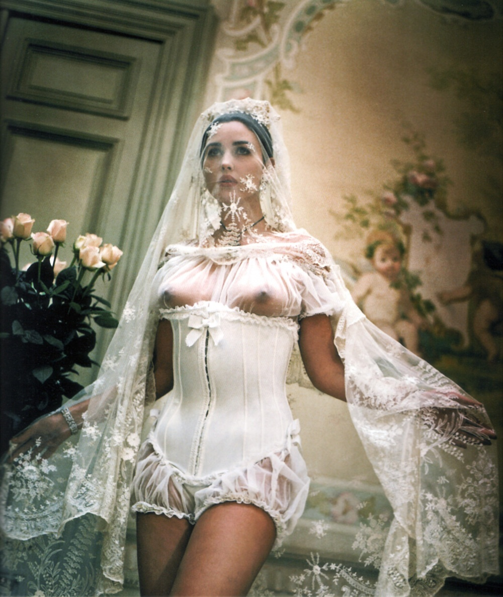 Bondage wedding dress