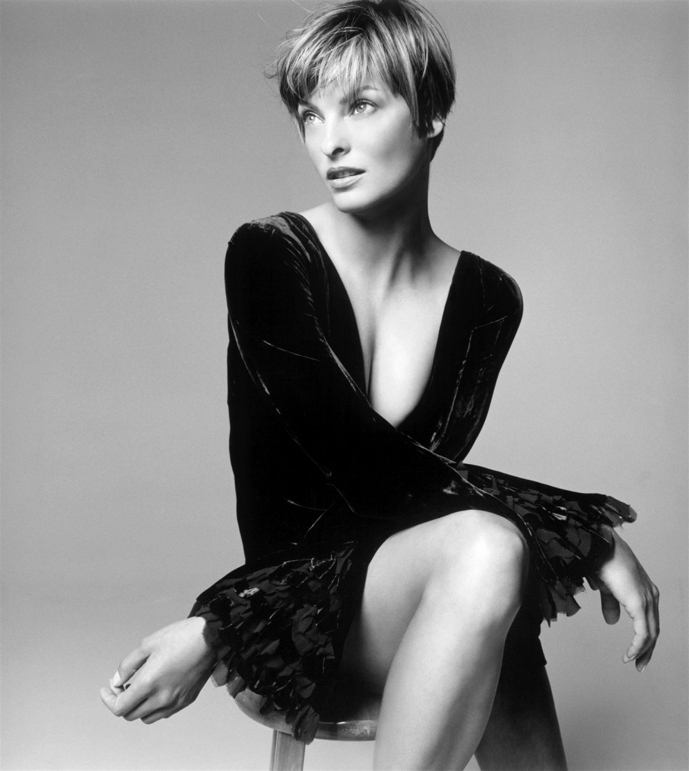 linda evangelista height