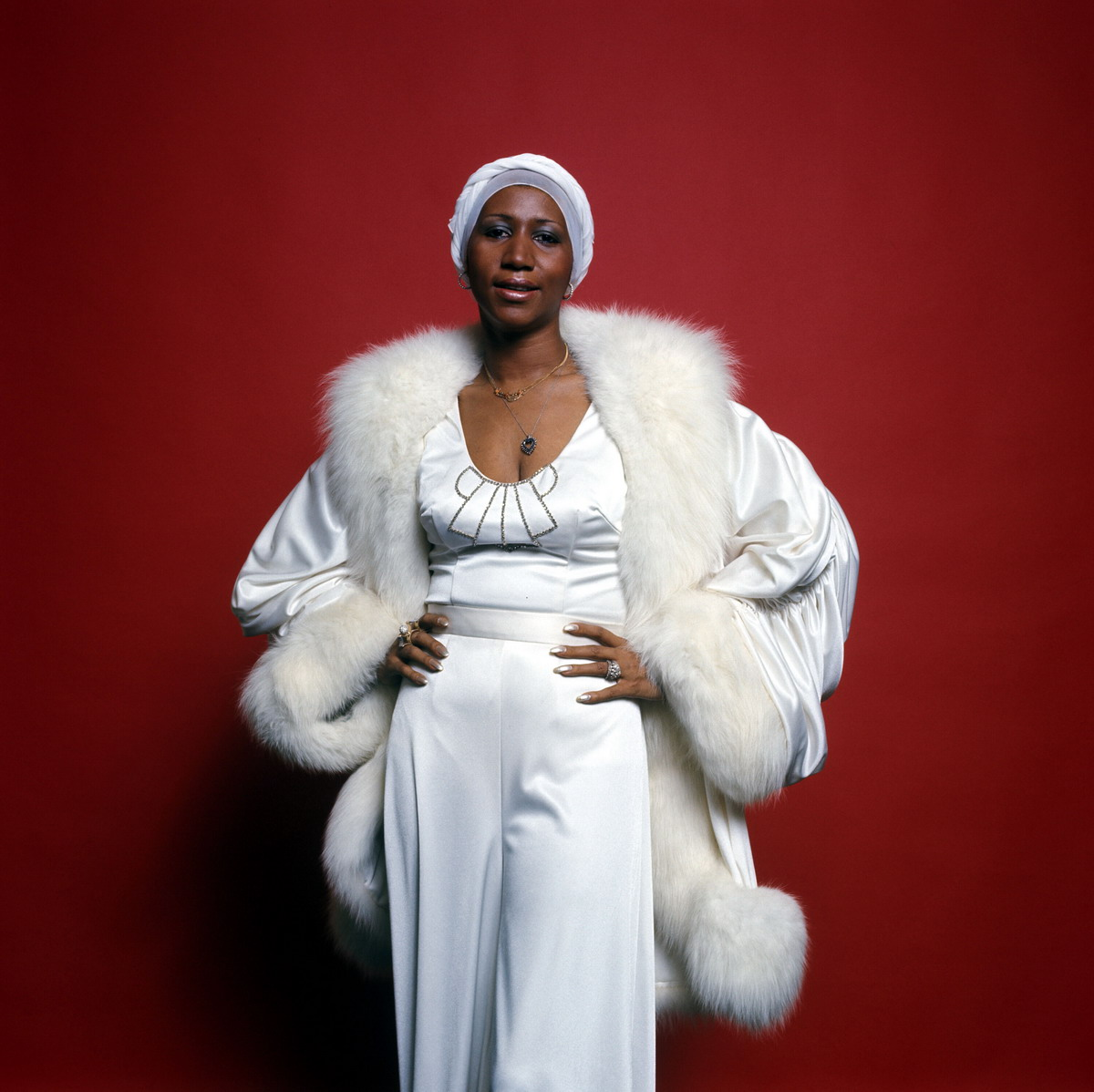 Aretha Louise Franklin Memphis 25 de março de 1942 Detroit 16 de agosto de 2018 foi uma cantora e compositora estadunidense de gospel RampB e soul que virou