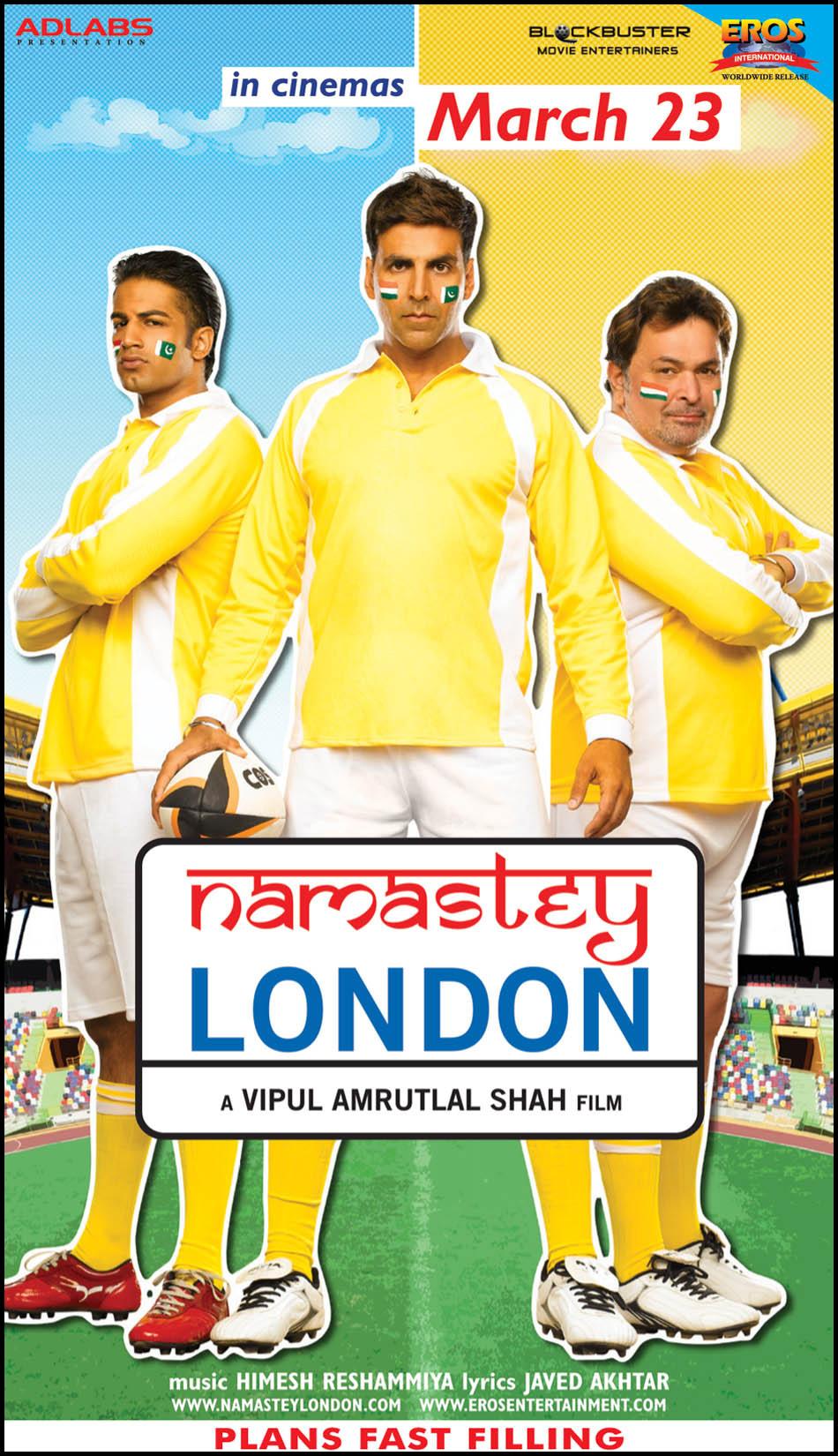 namastey london Listen to all namastey london vol 1 songs now on saavn 2007 hindi movie feat akshay kumar, katrina kaif, rishi kapoor, nina wadia, javed sheikh, upen patel, tiffany mulheron, clive standen.