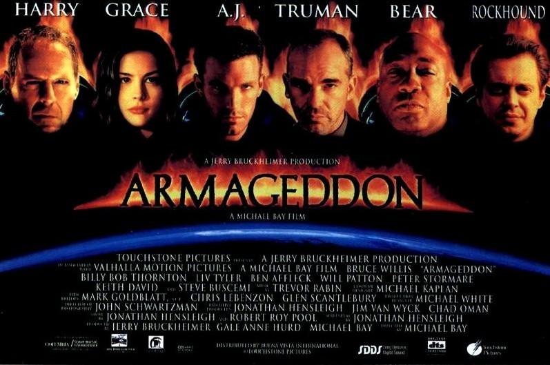 armageddon movie poster - 797×529