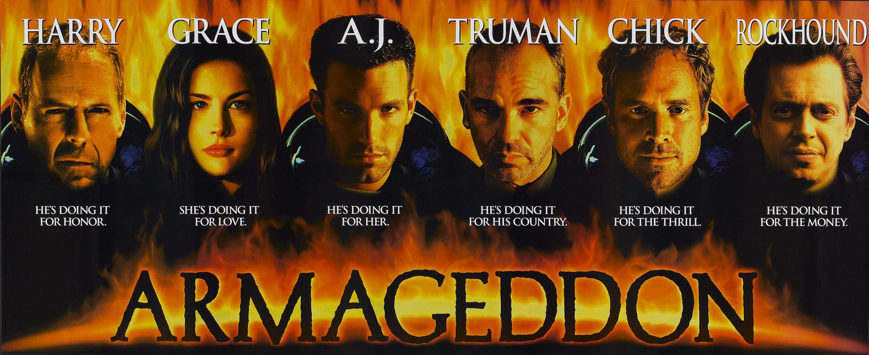 armageddon movie poster - HD3000×1225