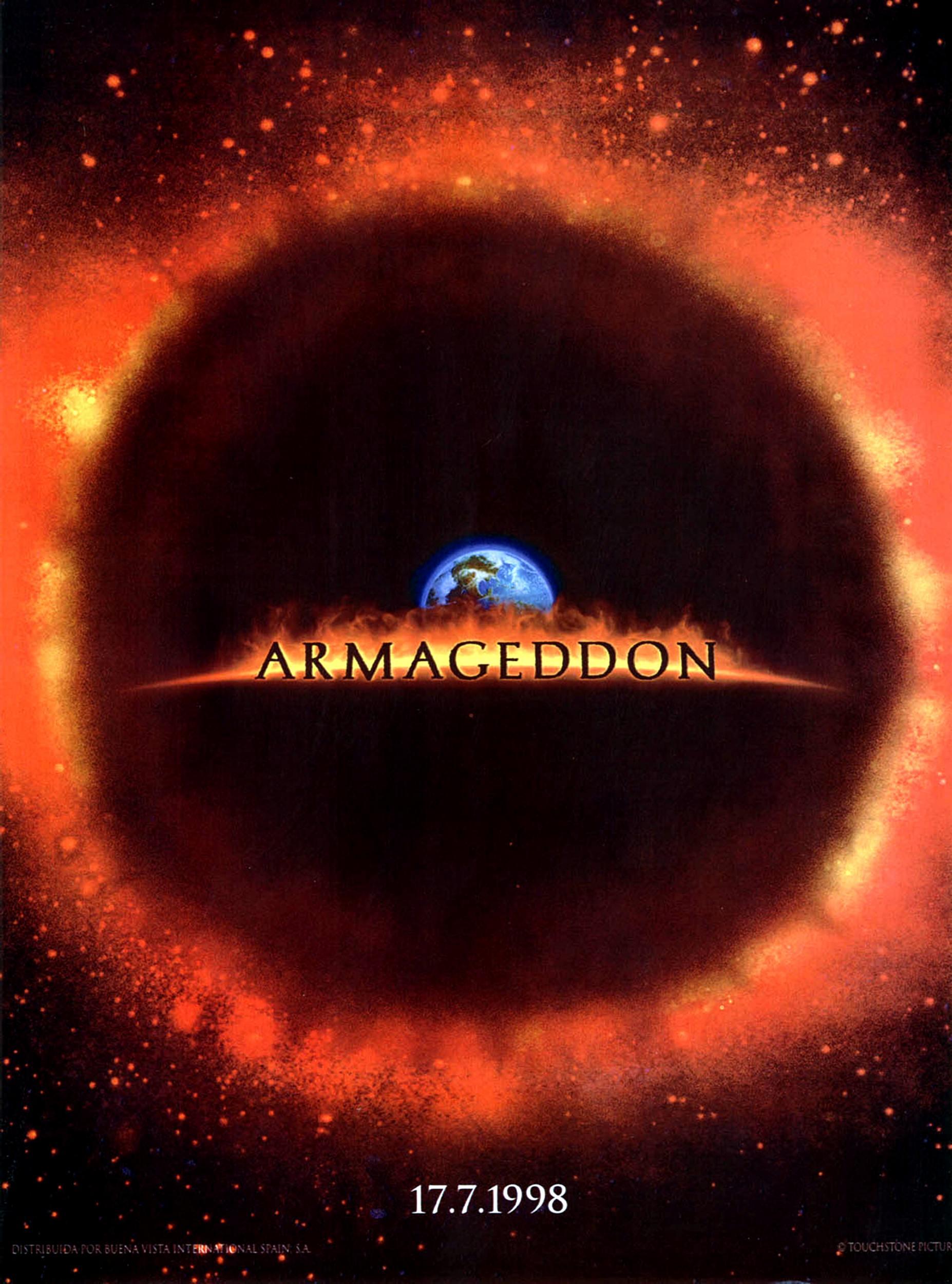 armageddon movie poster - HD1854×2500