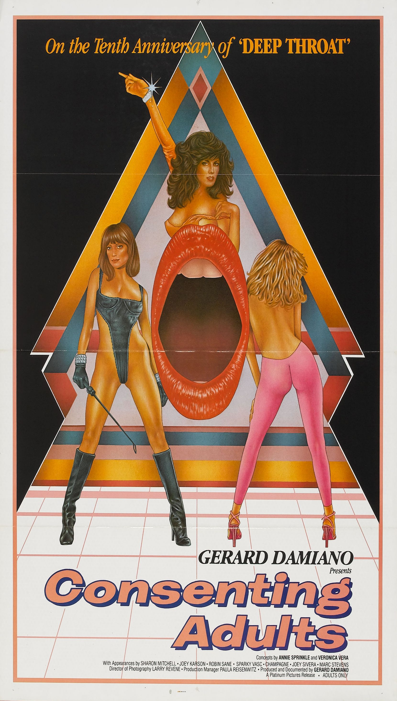 Film porno movie poster girls