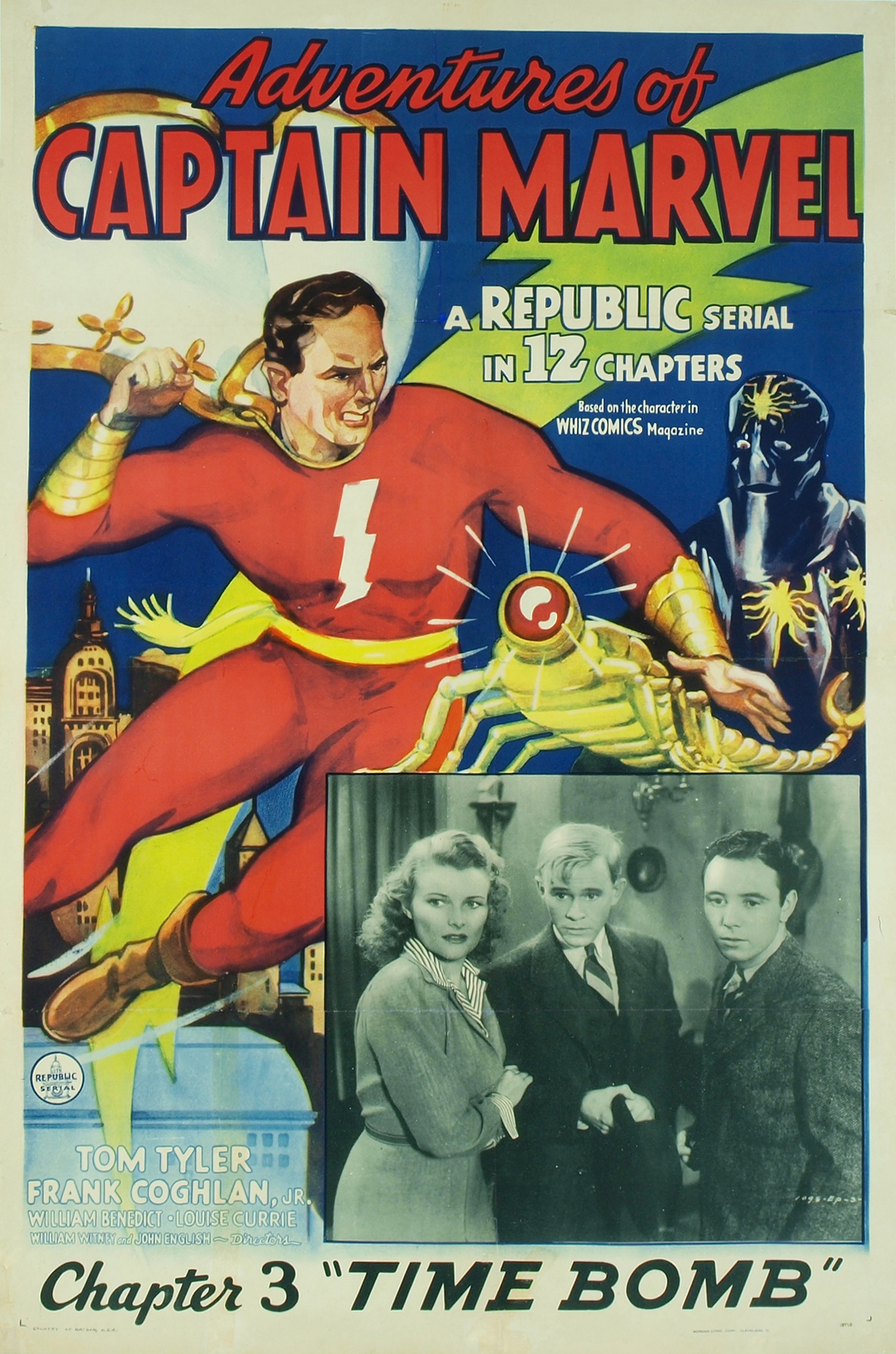 all about adventures of captain marvel 1941 imdb - kidskunst