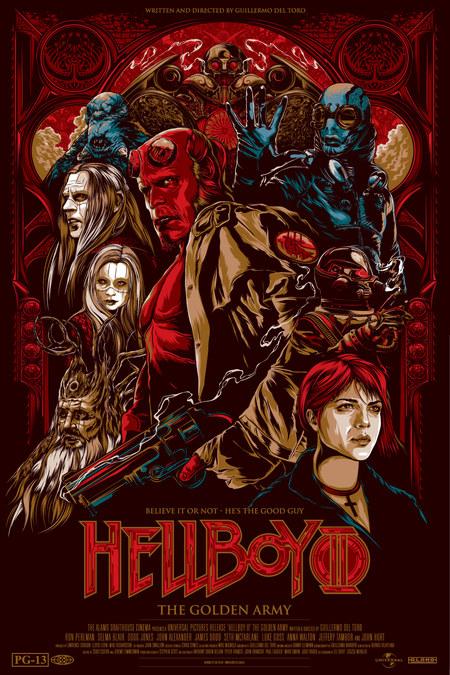 "Рецензия на фильм ""Хеллбой II: Золотая армия"" (Hellboy II: The Golden Army) 2008"