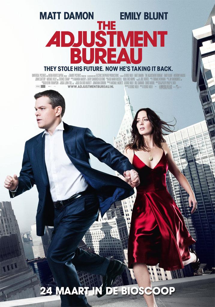Меняющие реальность / The Adjustment Bureau (2011)