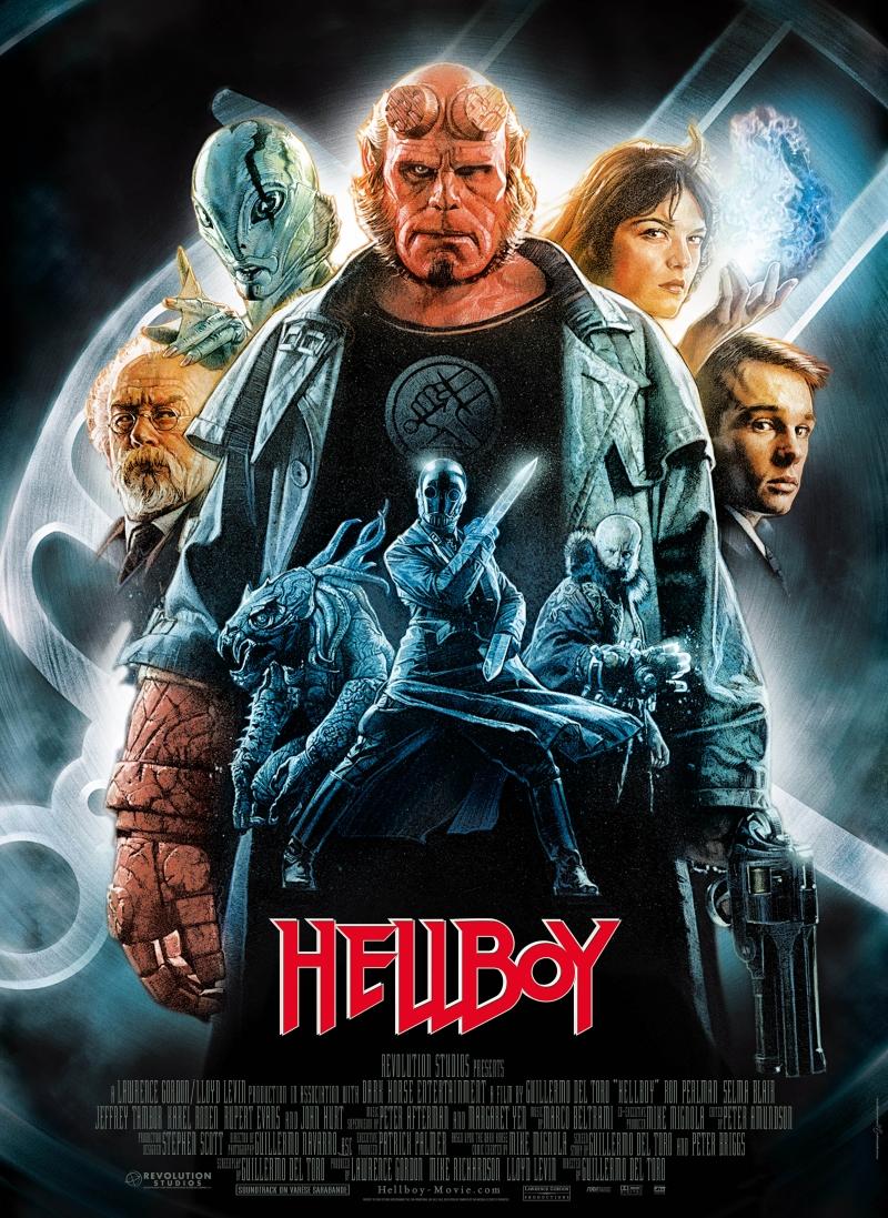 """Рецензия на фильм """"Хеллбой: Герой из пекла"""" (Hellboy) 2004"""