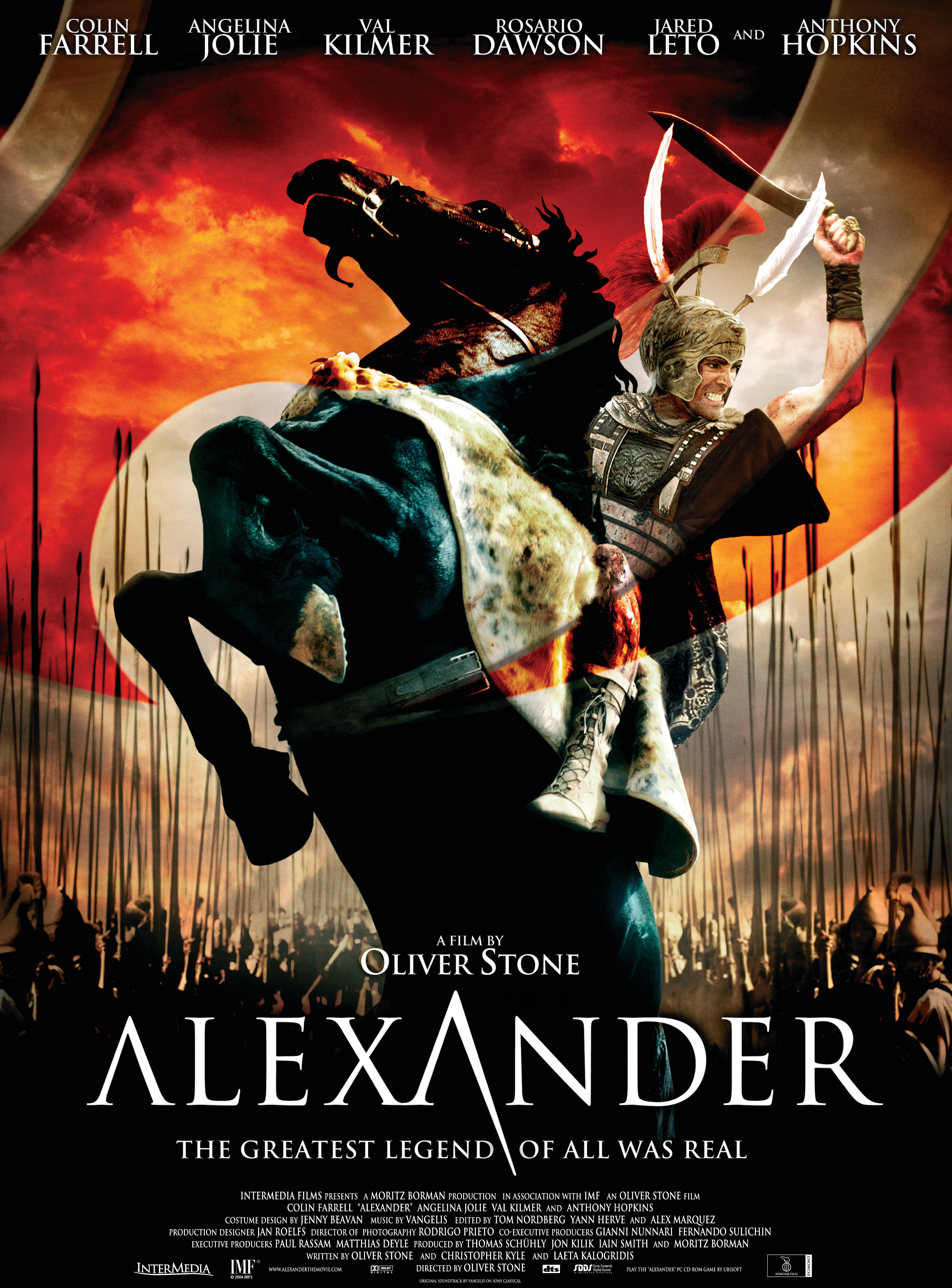 distorted history in the movie alexander by oliver stone