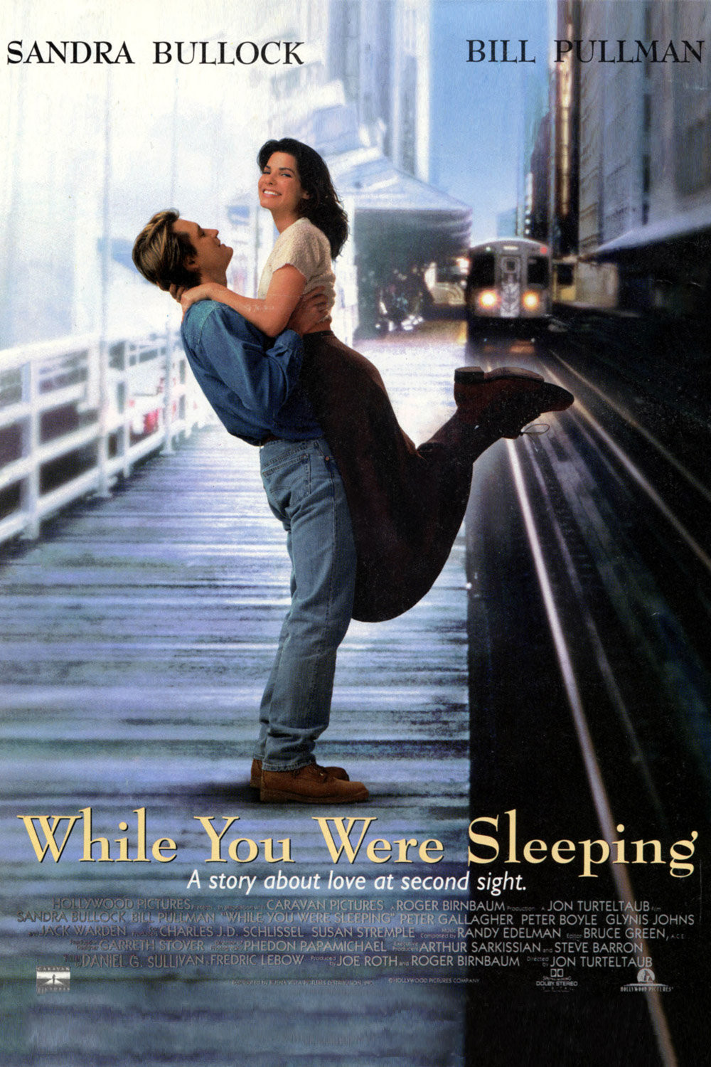 Пока ты спал / While You Were Sleeping (1995)