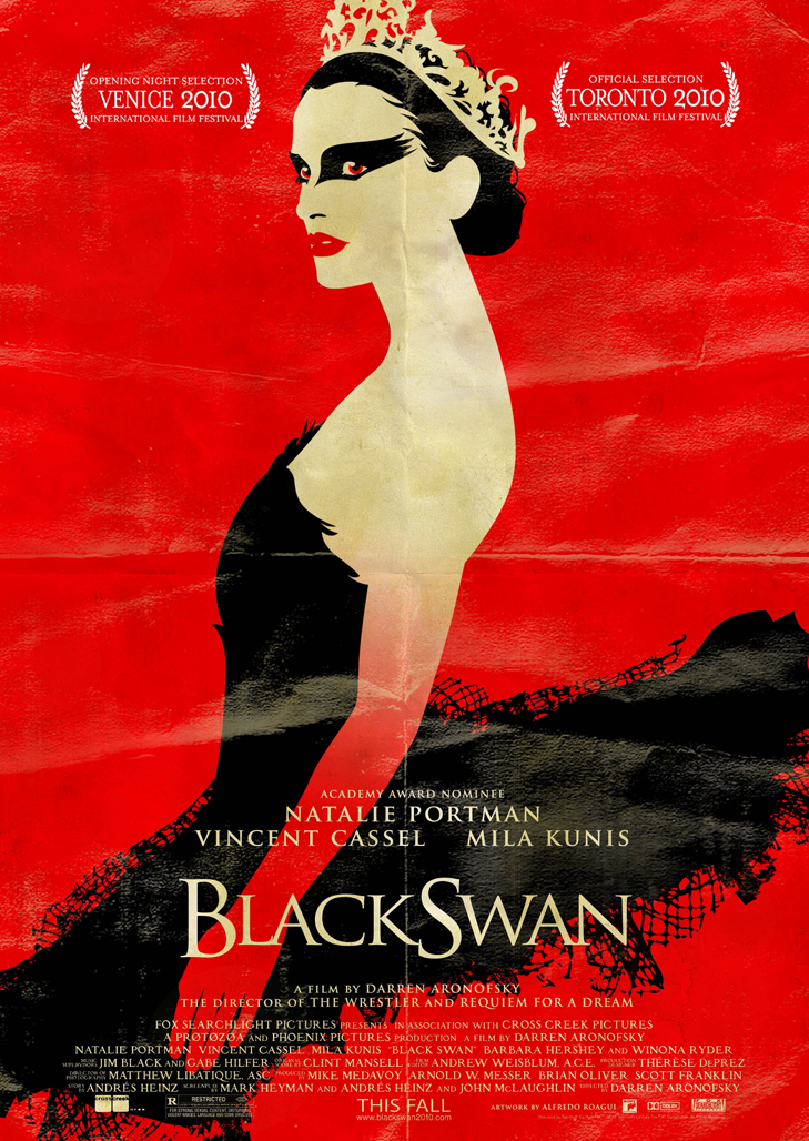a comparison of the red shoes by michael powell and the black swan by darren aronofsky