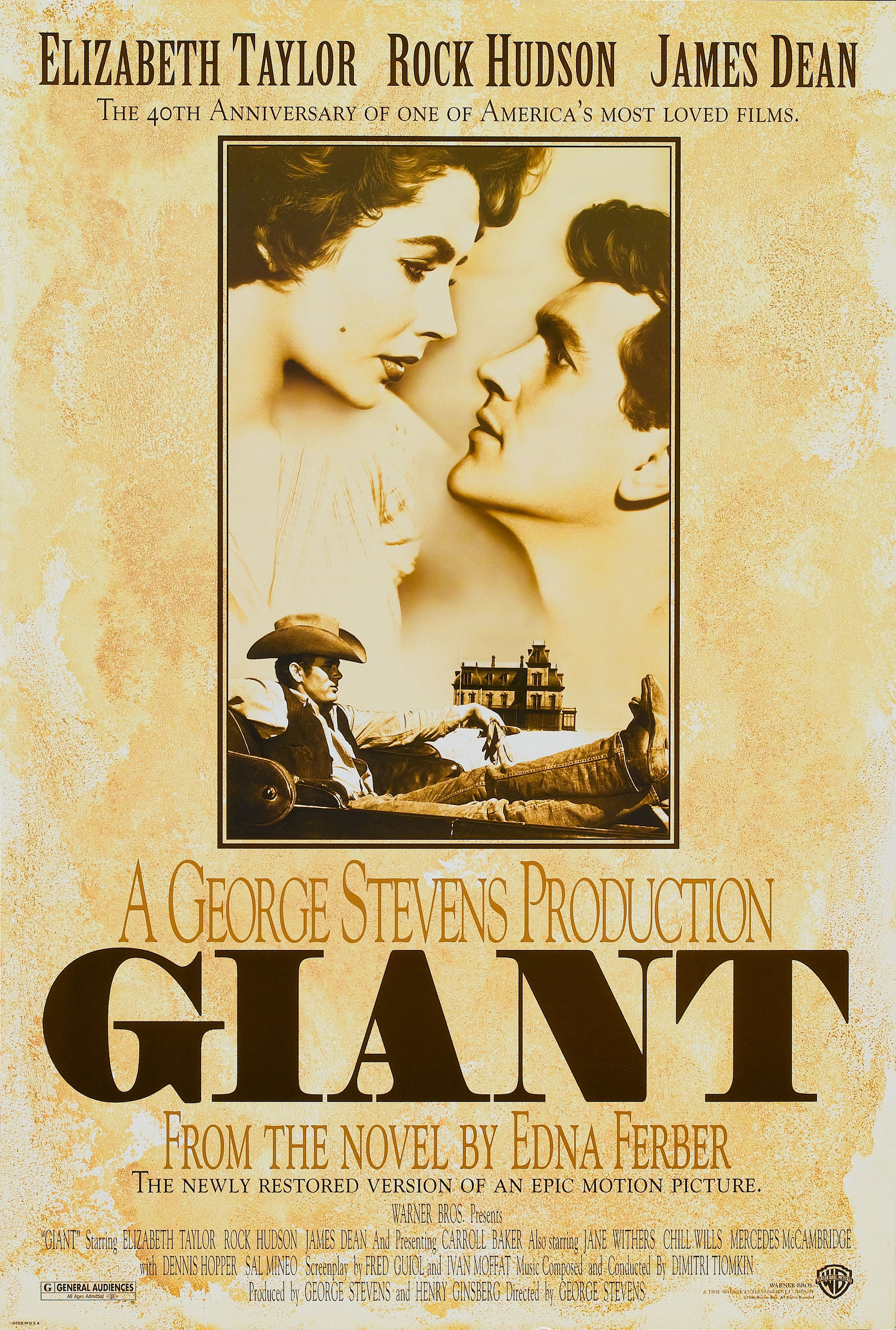 giant 1956 poster