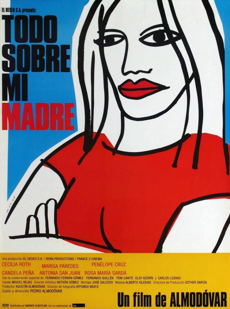 Всё о моей матери / Todo sobre mi madre (1999)