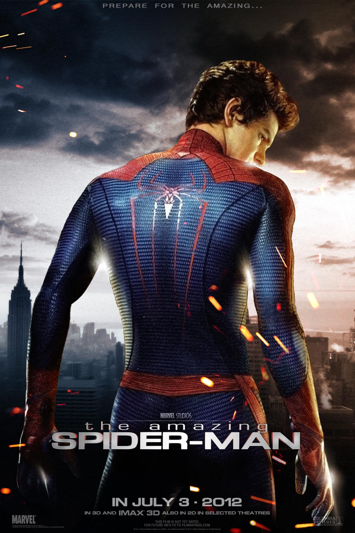 Новые человек паук постеры