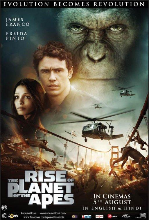 Восстание планеты обезьян / Rise of the Planet of the Apes (2011)