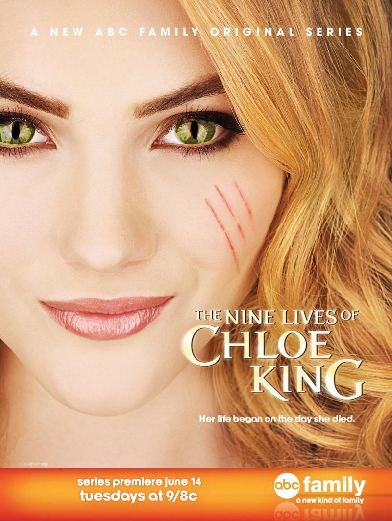 Девять жизней Хлои Кинг 1 сезон 1-10 серия AXN Sci-fi | The Nine Lives of Chloe King (Дев'ять життів Хлої Кінґ)