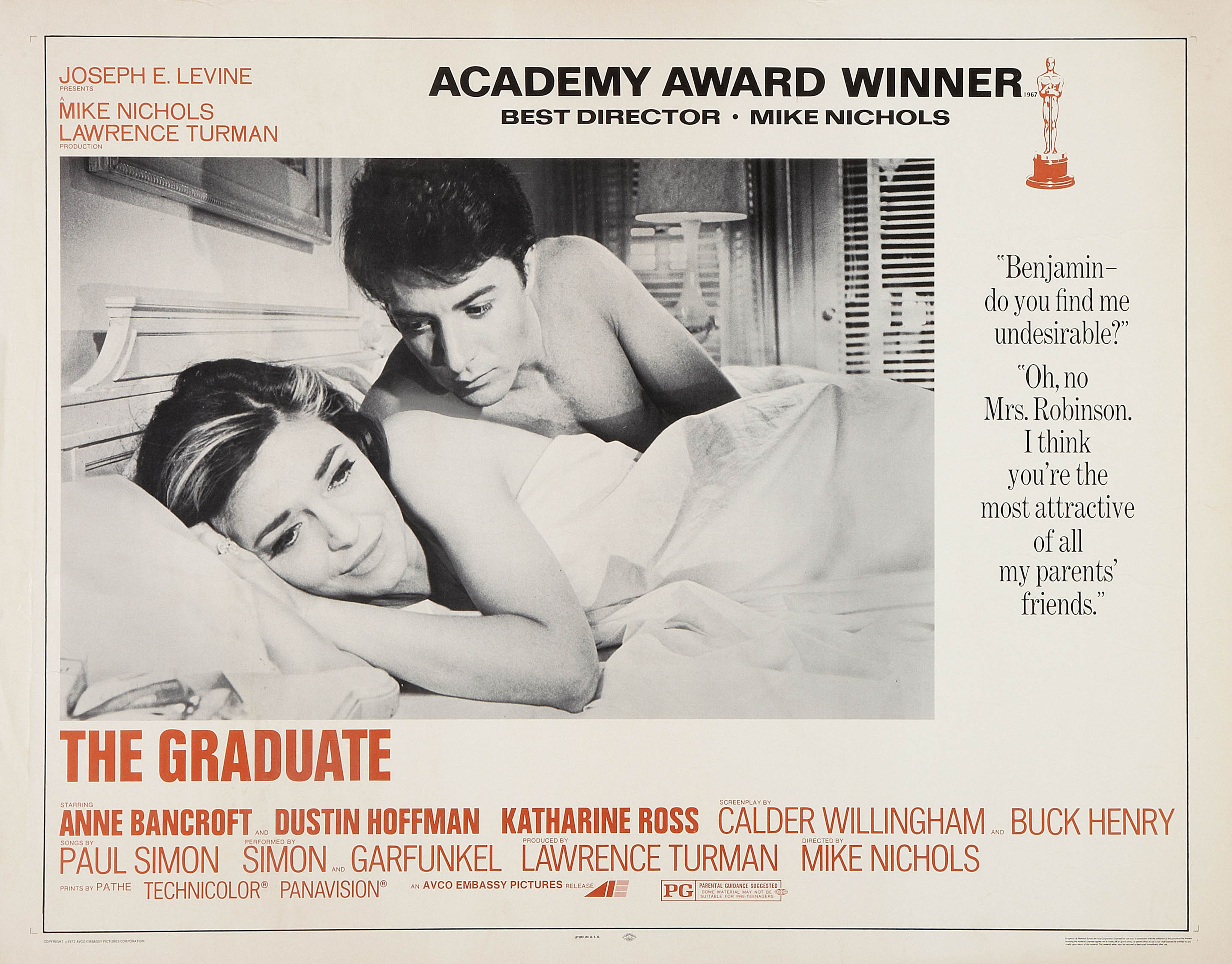 the underlying theme of mike nichols directed film the graduate Mike nichols, the director of matchless versatility who brought fierce wit, caustic social commentary and wicked absurdity to such film, tv and stage hits as the graduate, angels in america and monty python's spamalot, has died.