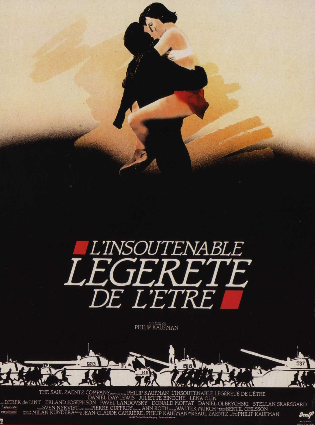 the film unbearable lightness of being essay