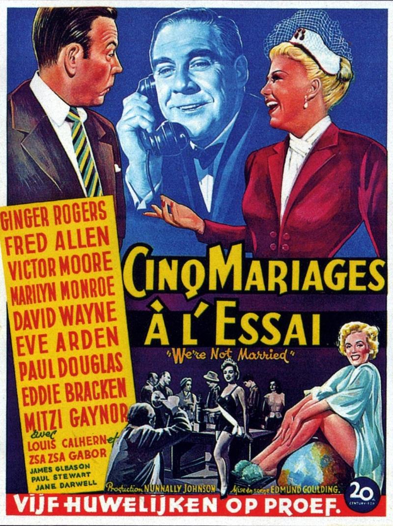 смотреть онлайн мы не женаты 1952 в хорошем качестве