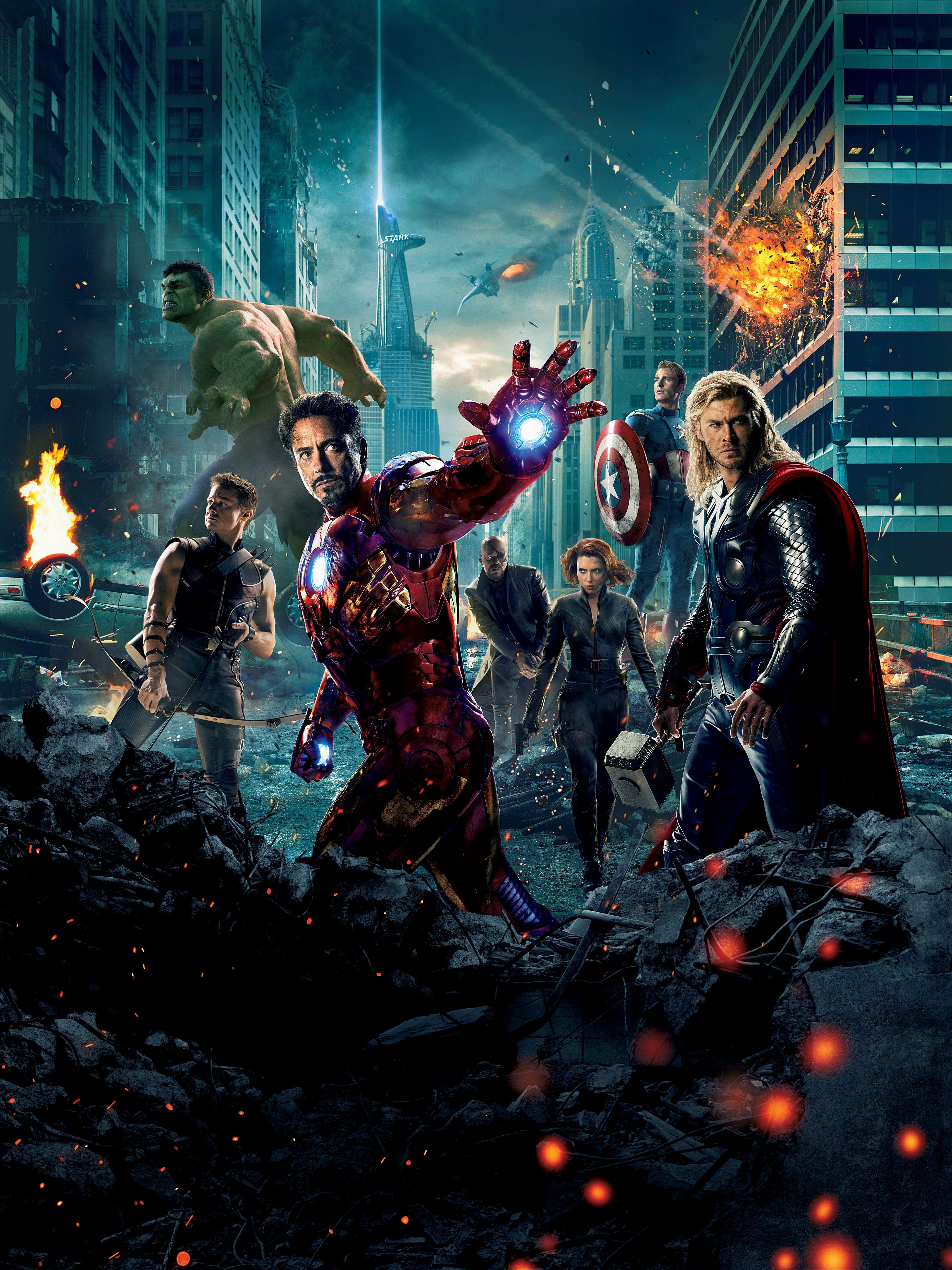 новейший постер мстителей вылет