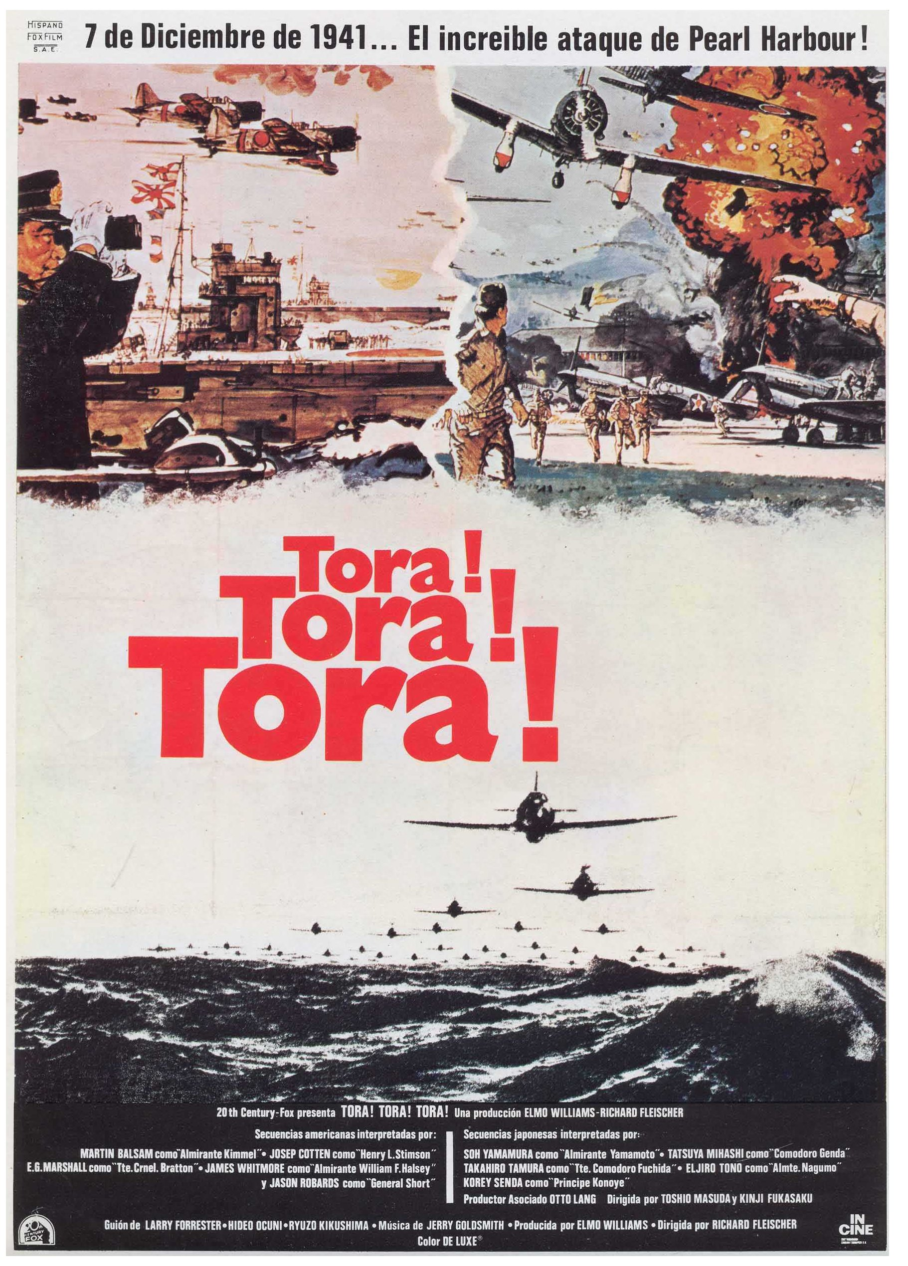 an analysis of the film tora tora tora Yet tora tora tora is still the best the pearl harbor movie of jerry brucheimer is a crap i hope speilberg do a film about the attack which is accurately done and even the battle of midway perhaps.