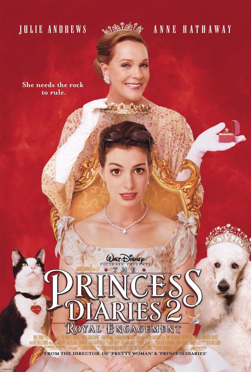 Дневники принцессы 2: Как стать королевой / The Princess Diaries 2: Royal Engagement (2004)