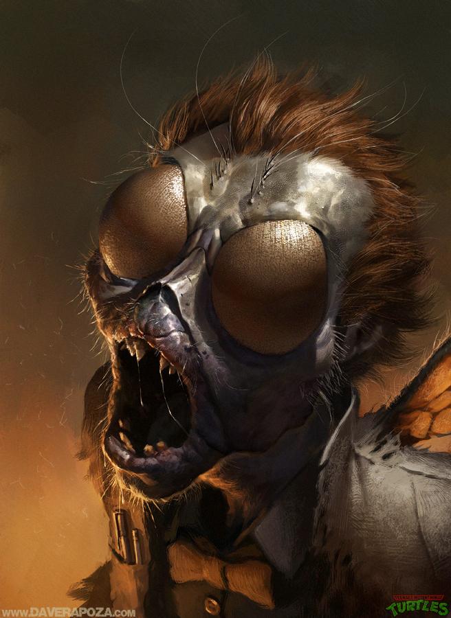 муха мутант картинки обнаженную натуру