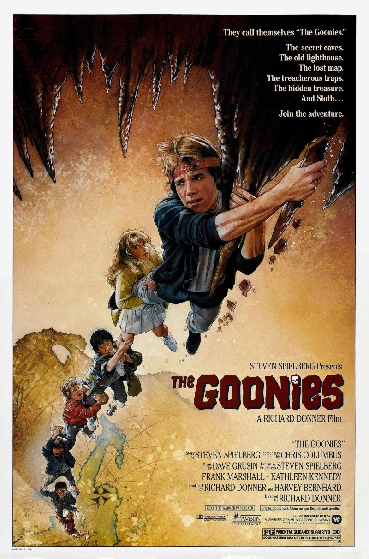 Продолжу прерванную на прошлой неделе историю с небольшим количеством  фильмов из эпохи Первого игрока. Балбесы   The Goonies   1985 cc1a5372eb1