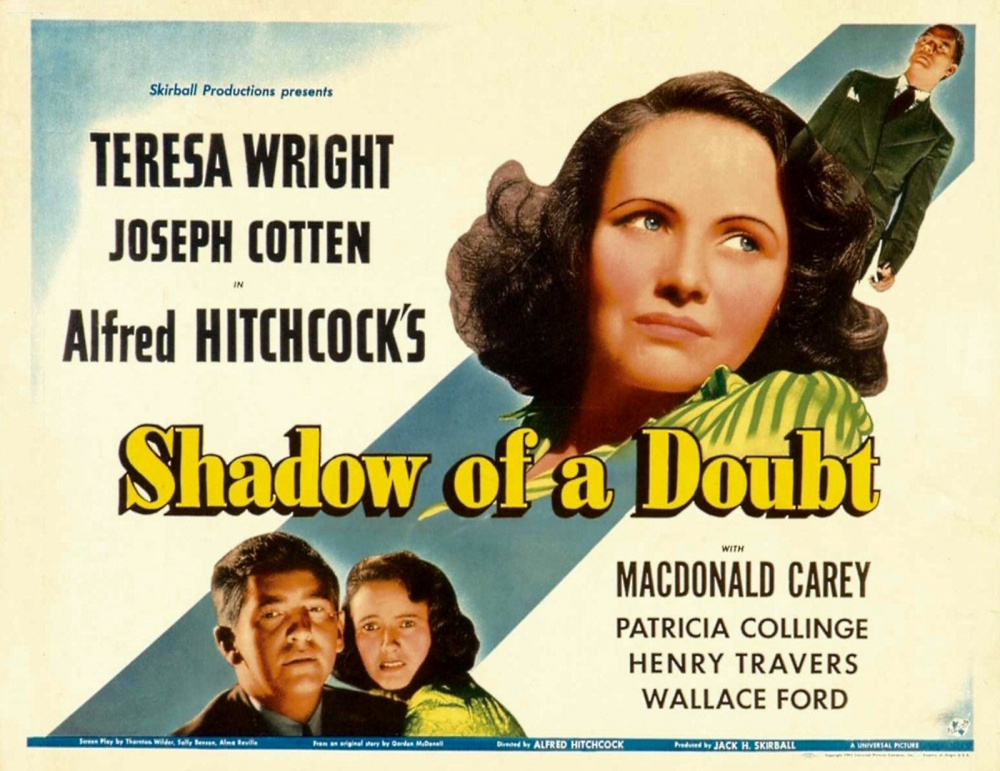 shadow of a doubt essay Free essay: shadow of a doubt shadow of a doubt is an alfred hitchcock film that was shot on location in the 1940's town of santa rosa charlie-horse in shadow of a doubt, hitchcock utilizes and stretches the ambiguous line between comedy and suspense by utilizing smaller characters in the.