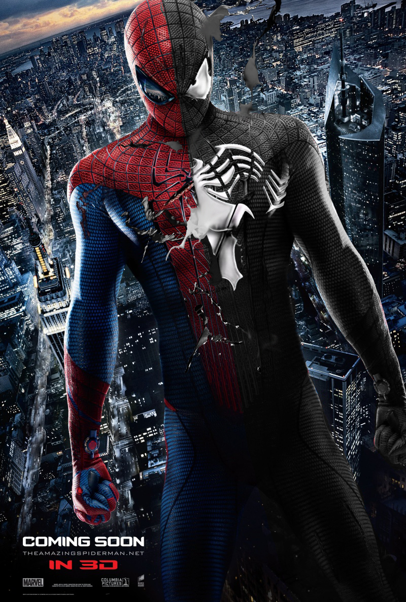 из нового человека паука