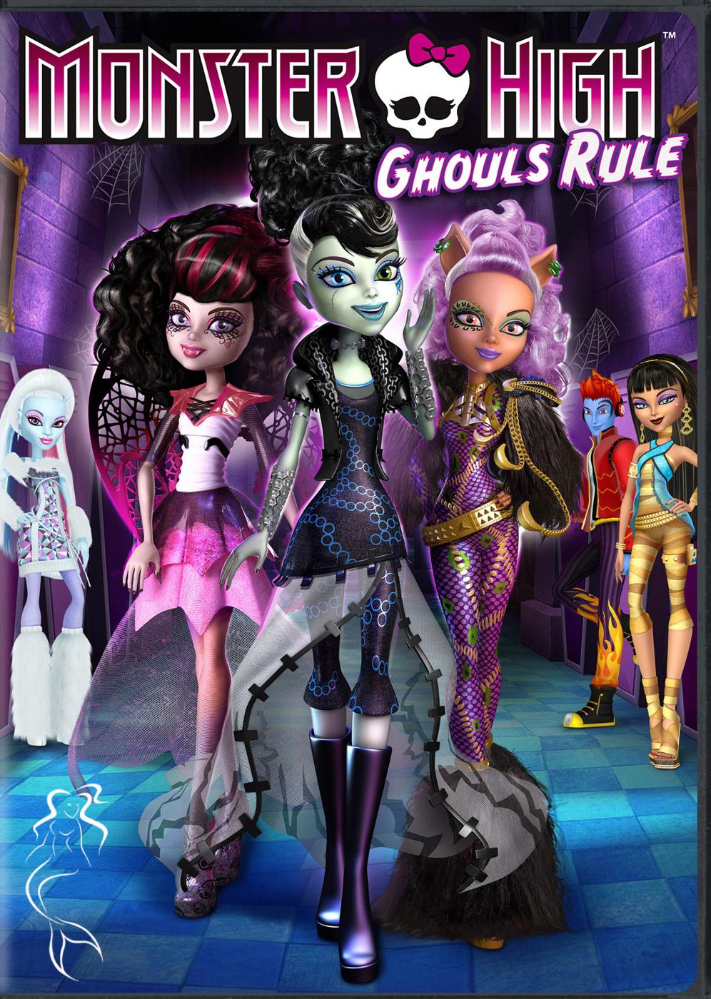 Игры Школа Монстров Монстер Хай для девочек  играй