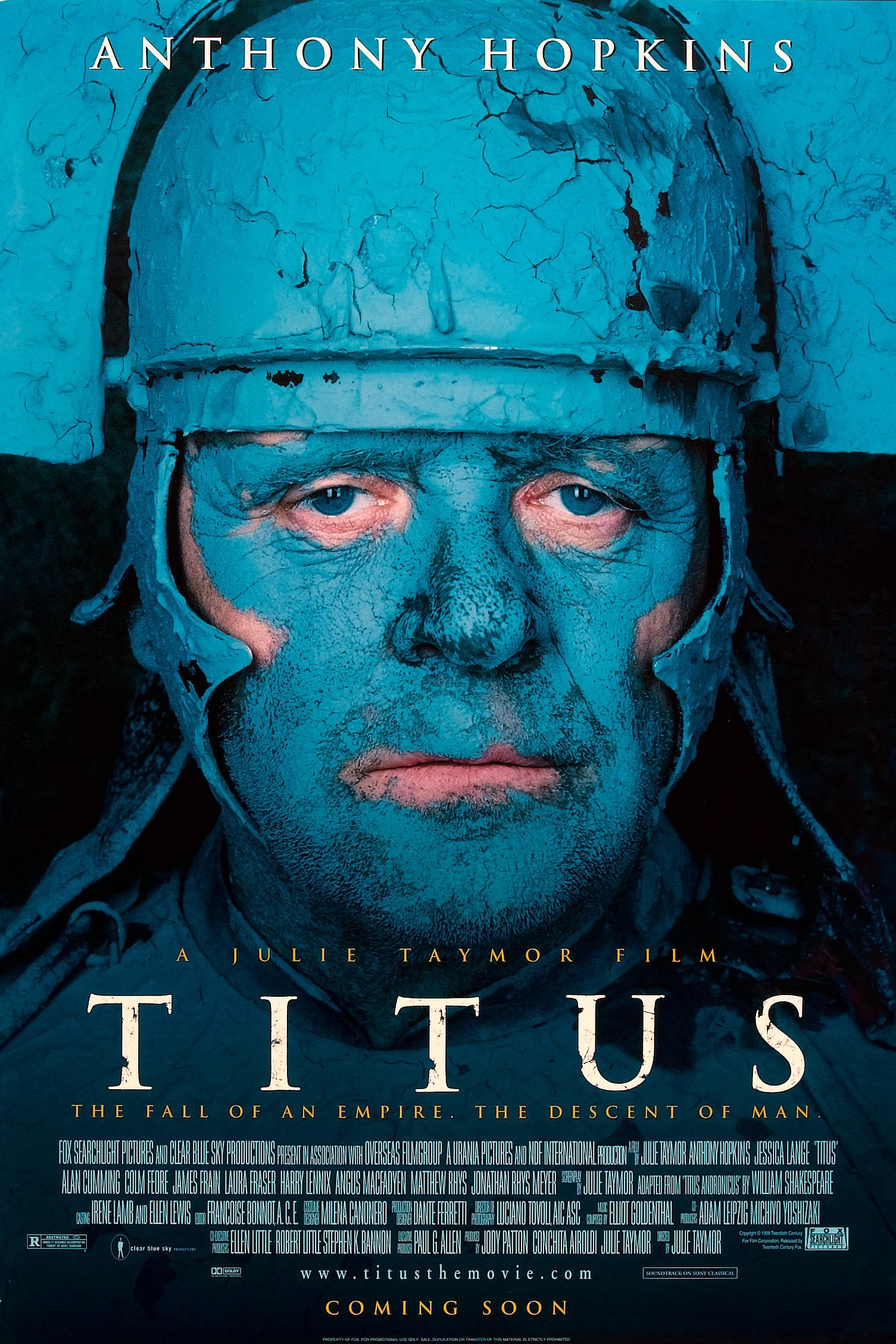julie taymors titus andronicus Titus is a 1999 italian-american-british historical thriller film adaptation of william shakespeare's revenge tragedy titus andronicus, about the downfall of a roman julie taymor (born december 15, 1952) is an american director of theater, opera and film.