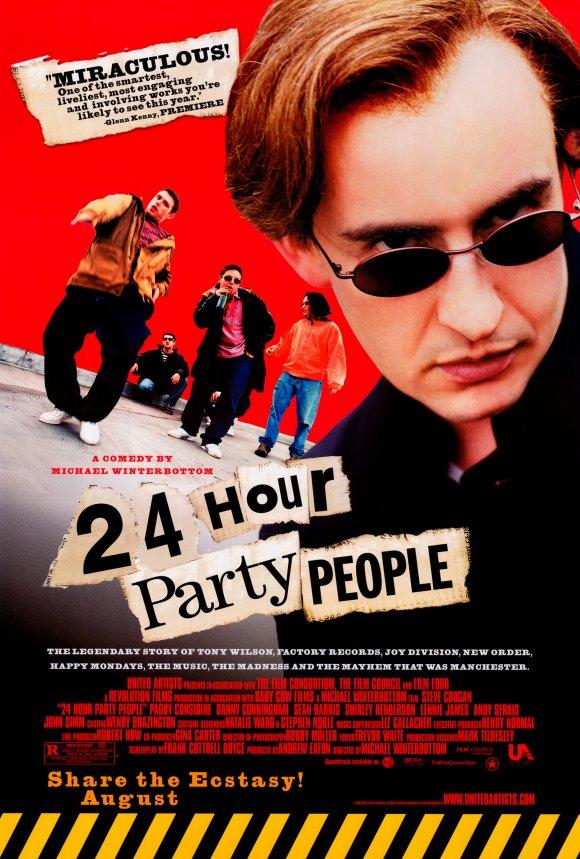 Круглосуточные тусовщики / 24 Hour Party People (2001)