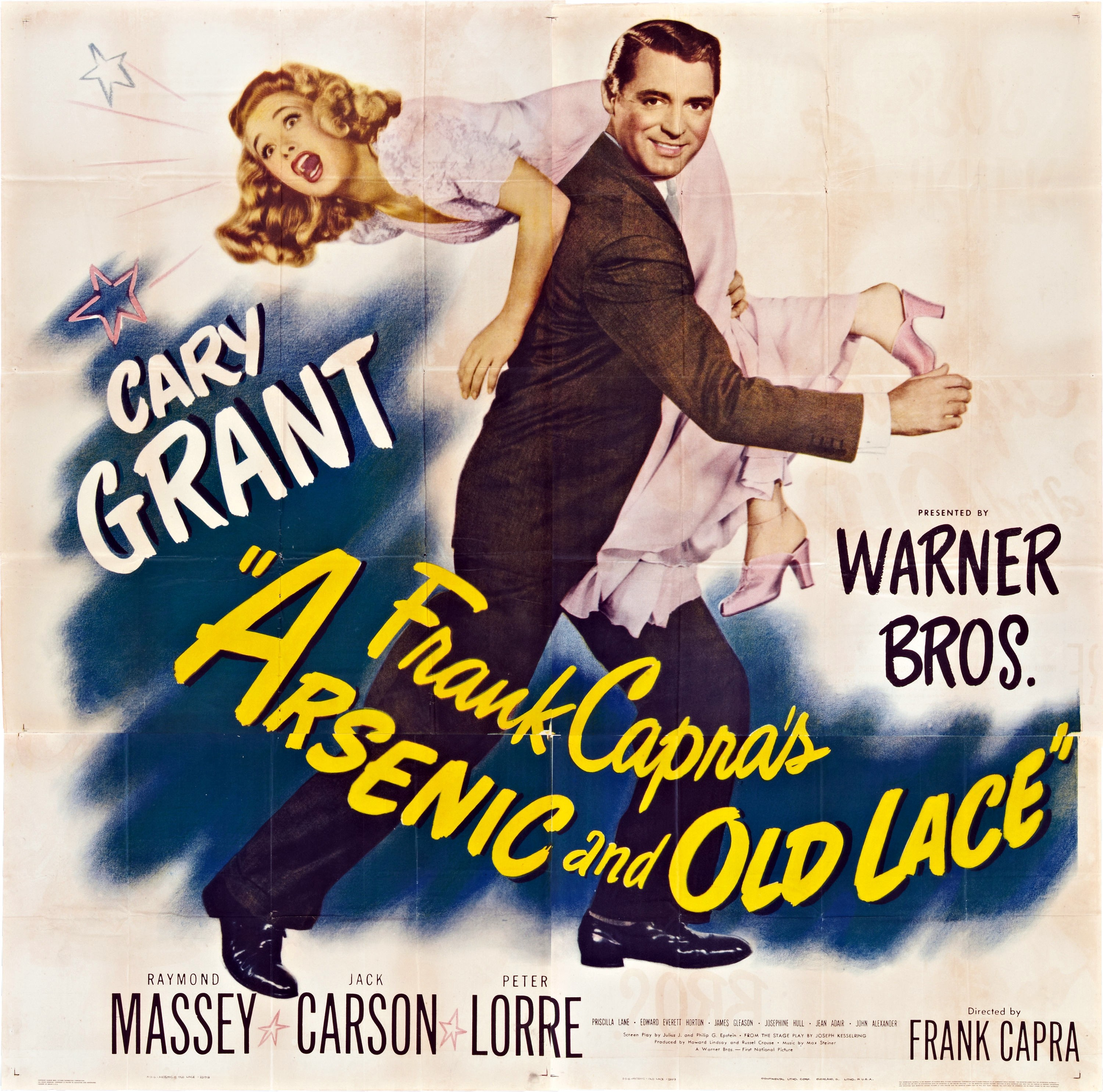 an analysis of the movie arsenic and old lace directed by frank capra Arsenic and old lace (1/10) movie clip arsenic and old lace (1944) - imdb - directed by frank capra with cary grant, priscilla lane, raymond massey, jack carson.