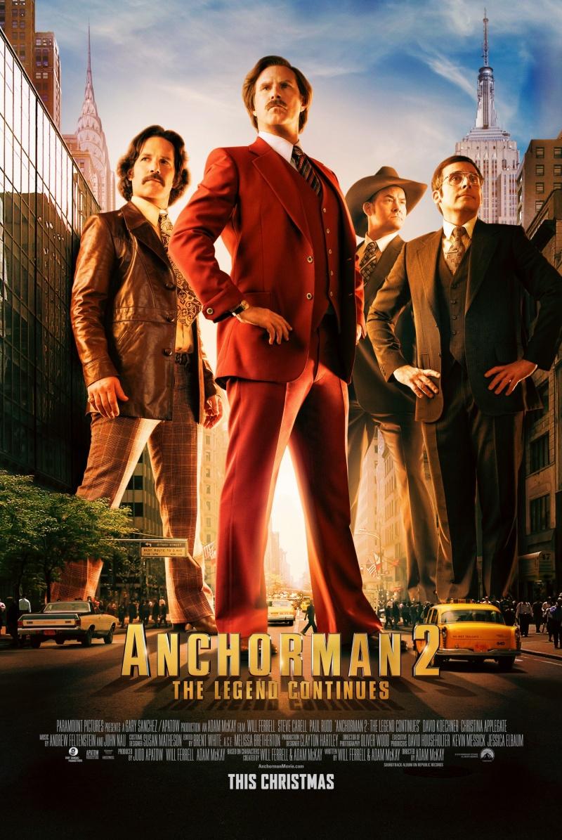 Телеведущий: И снова здравствуйте / Anchorman 2: The Legend Continues (2013)