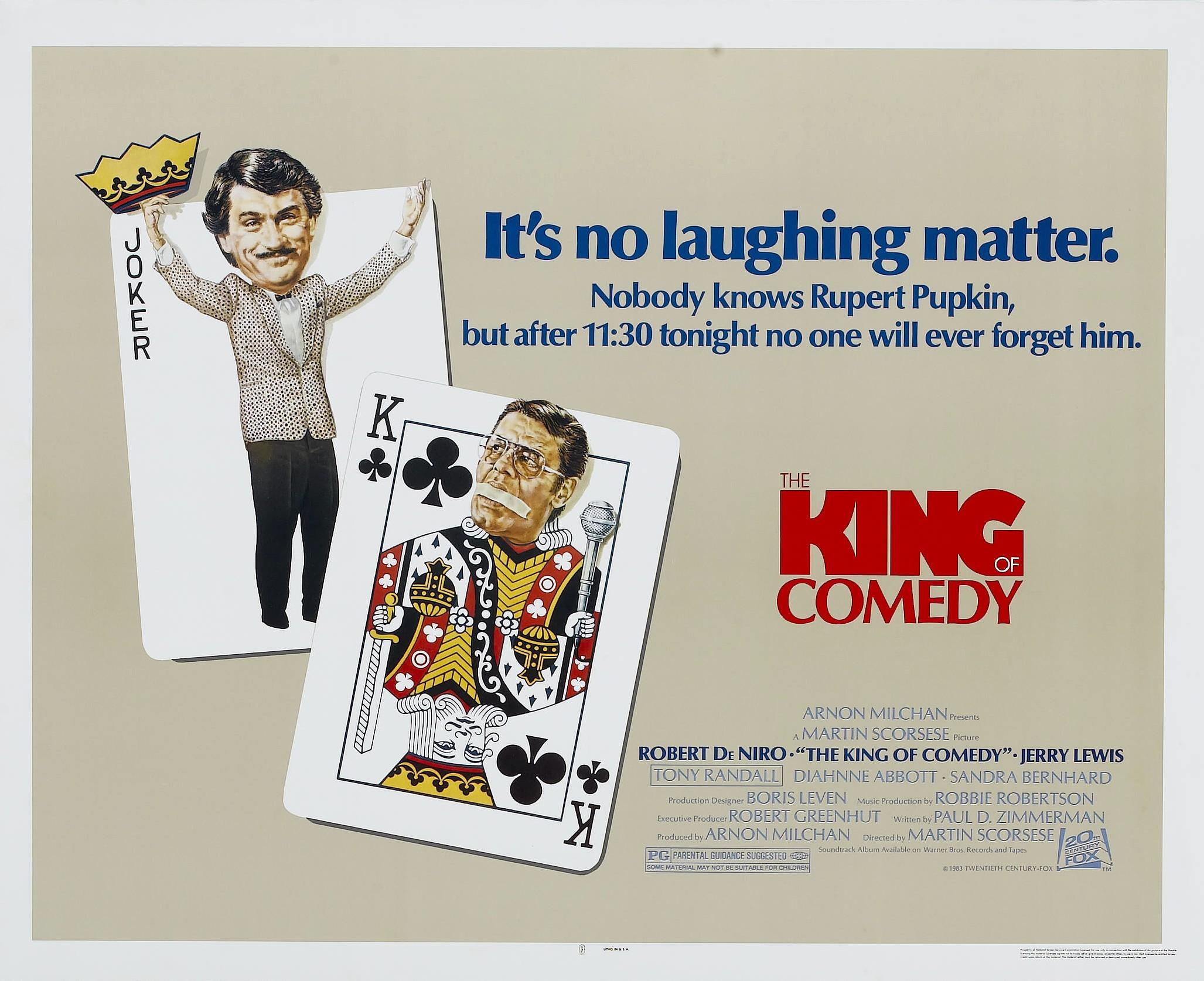 предлагаем король комедии постер создания предпраздничного