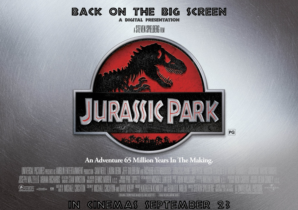 analysis cinematography jurassic park Spielberg's jurassic park is a unique adventure movie because of its topicspielberg uses sound, lighting, camera angles, and comic relief combined to make this an extraordinary action movie  there are many different elements which come into play that make this a great movie.