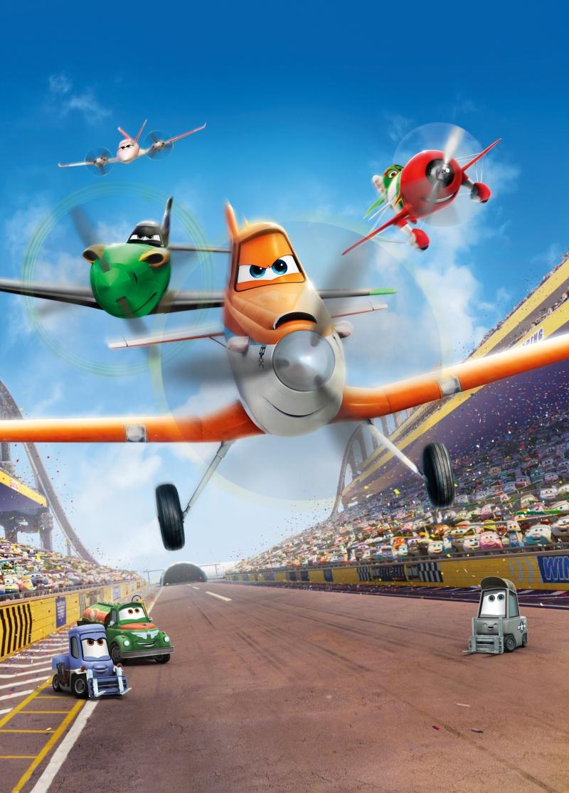 Постер к мультфильму самолеты