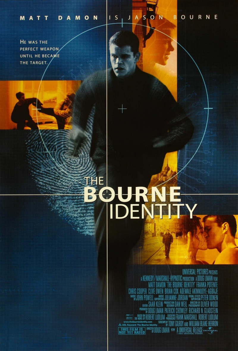 Идентификация Борна / The Bourne Identity (2000)