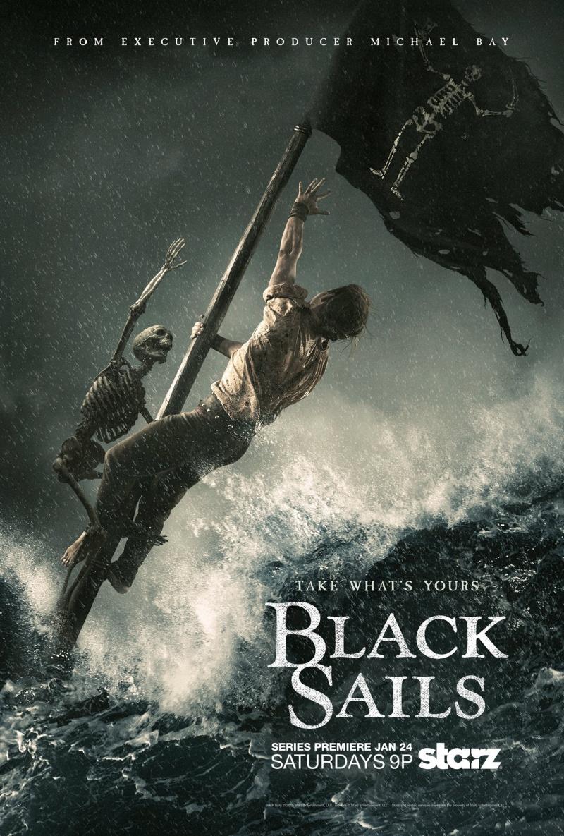 Черные паруса 1-4 сезон 1-8 серия AMEDIA | Black Sails