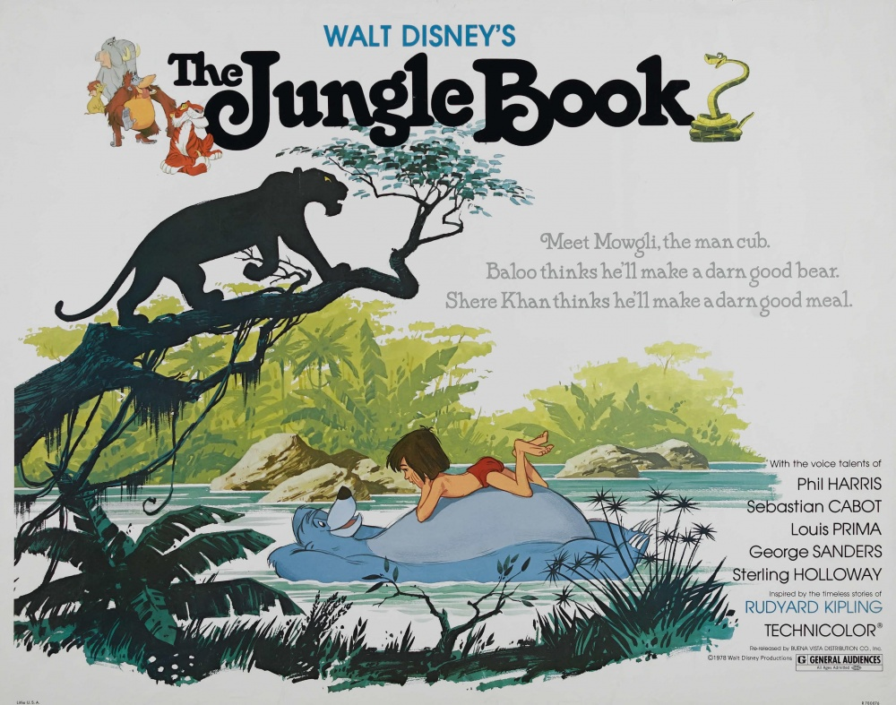 an analysis of the jungle book a classic movie by walt disney The songs don't particularly fit into this darker, wilder jungle book, which brutally kills off a beloved character, and climaxes in a bloody face-off that's miles away from the disney classic's quiet, domestic endingfavreau and marks' version is surprisingly daring in its use of violence, and its physical and emotional darkness.