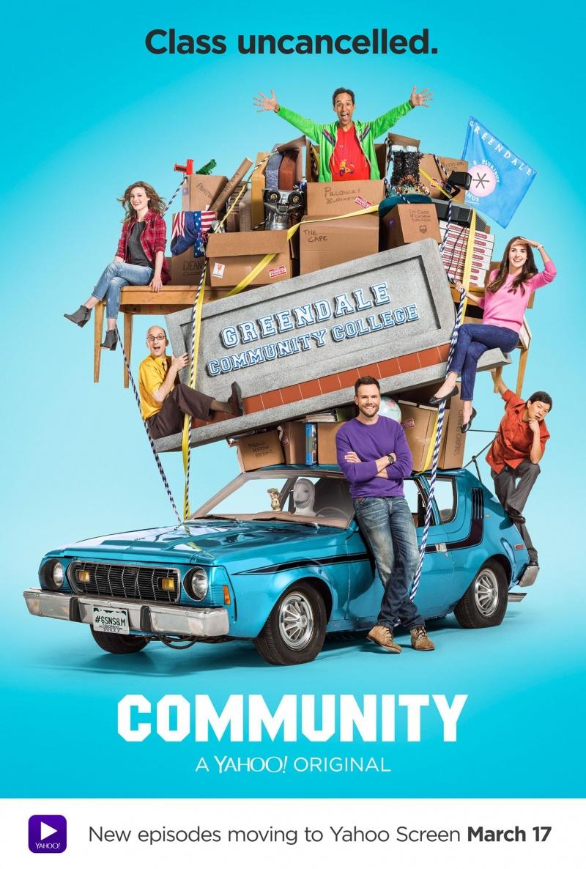 Сообщество 1 сезон 1-17 серия Paramount Comedy | Community