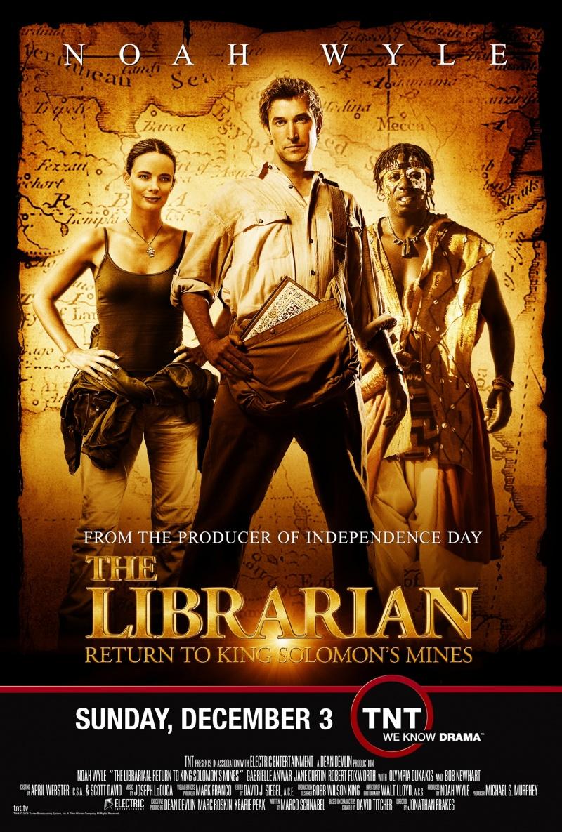 Библиотекарь 2: Возвращение в Копи Царя Соломона (2006)