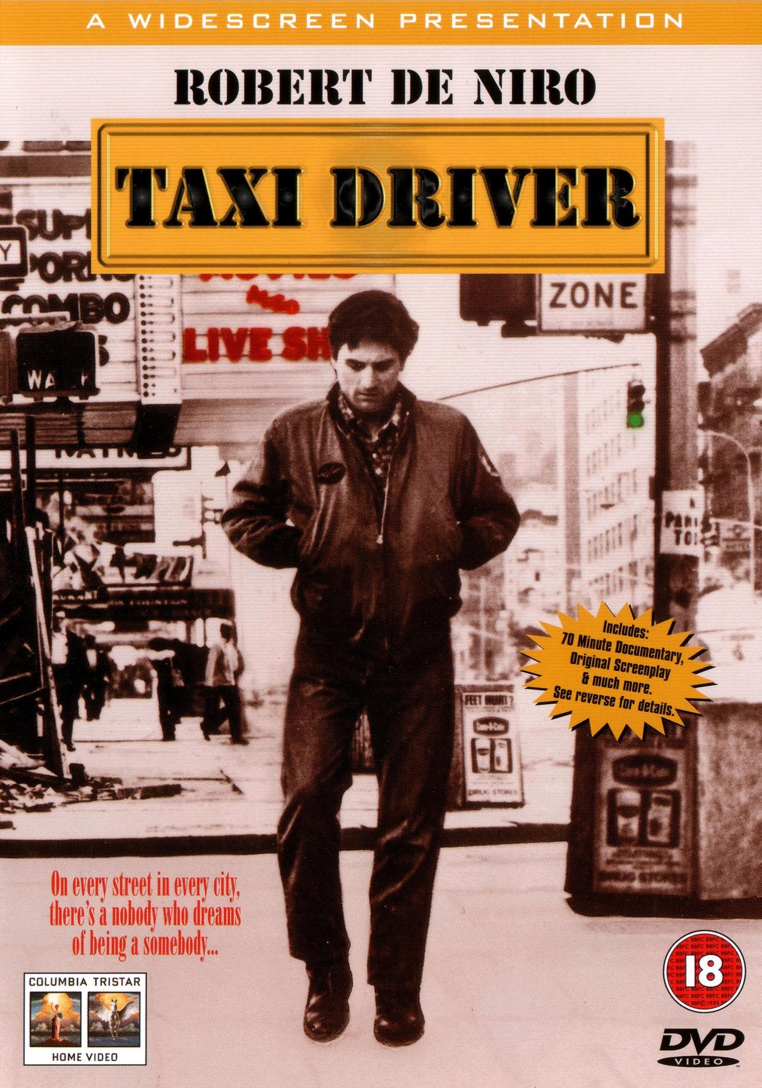 an analysis of the music in the movie taxi driver Taxi driver was martin scorsese's fifth feature film but became the one that profoundly elevated the here a five people and projects that have reverberated with the influence of taxi driver in the four in its squirmy details and brilliant analysis of how television obsession can deform the mind, the film is.