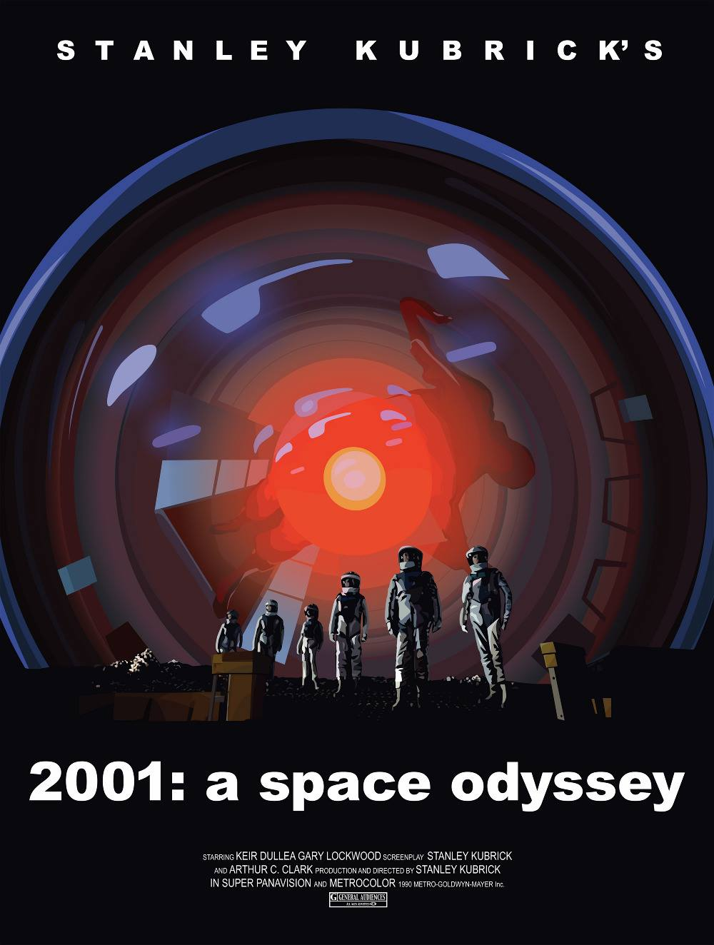 a review of the story space odyssey Free summary and analysis of the events in arthur c clarke's 2001: a space odyssey that wonâ origin story to explain the coming of super space baby.