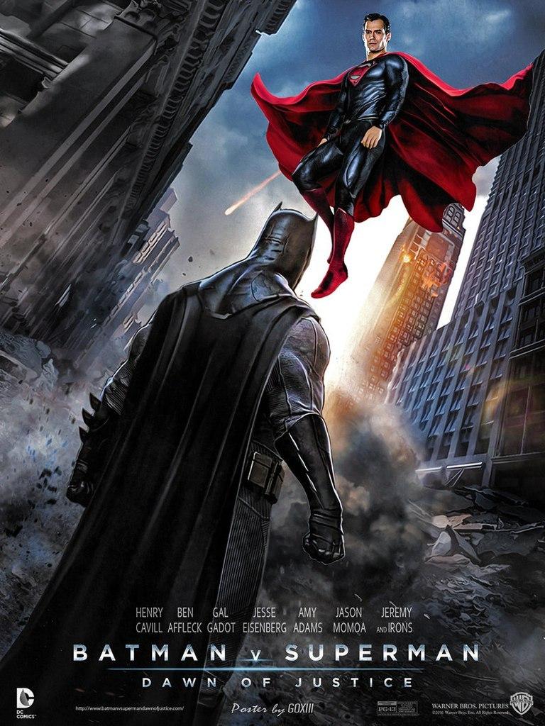 кто играет бэтмена в фильме бэтмен против супермена