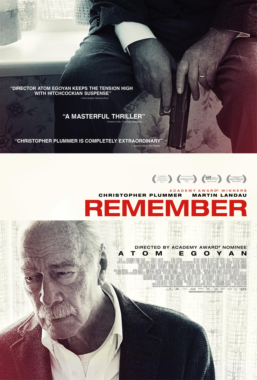 Постеры: Помнить / Постер фильма «Помнить» (2015) #2704811