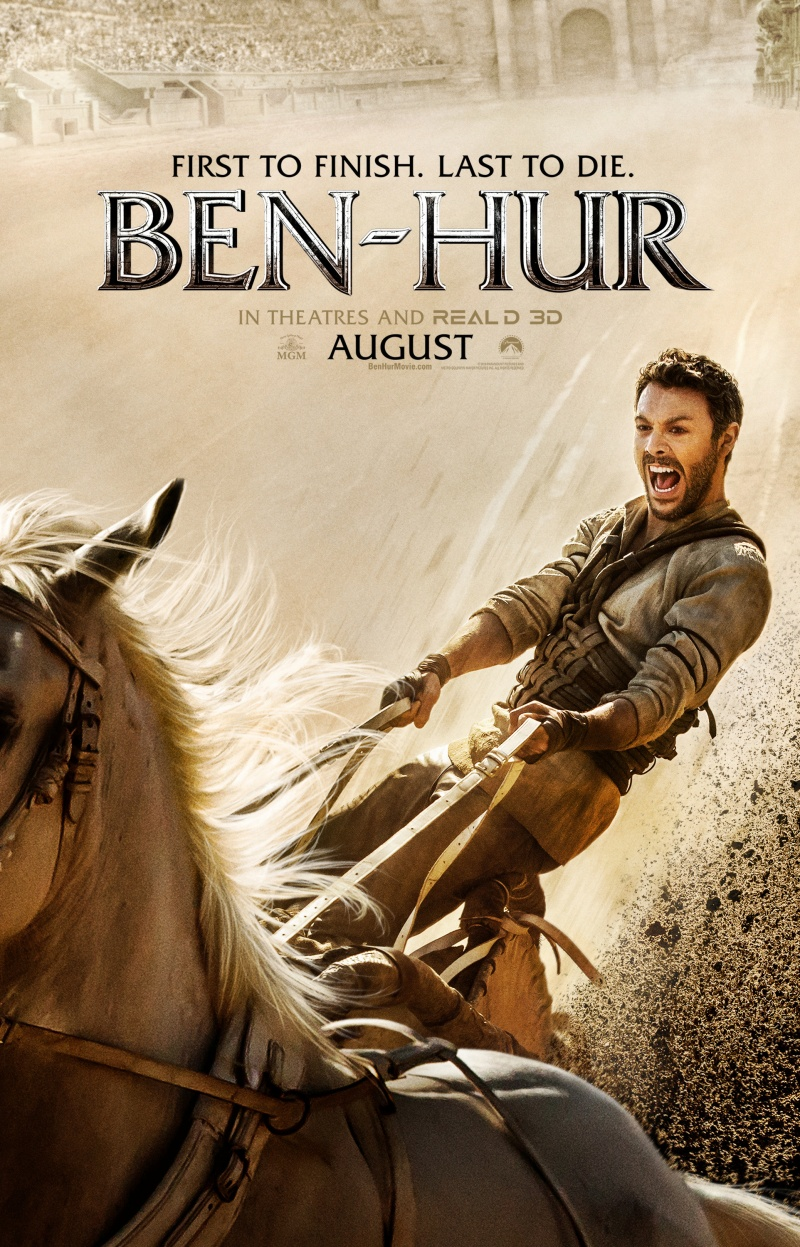 Постер к релизу Бен-Гур / Ben-Hur [2016 / Боевик, Драма, Приключения / HDRip]
